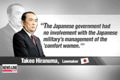 Japanese lawmaker says 'comfort women' are wartime prostitutes