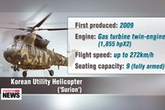Korea unveils its first indigenous utility helicopter