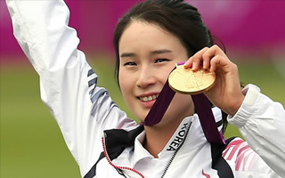 Ki Bo-bae Wins Gold in Individual Archery