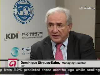 One on One with IMF Managing Managing Director Dominique Strauss-Kahn