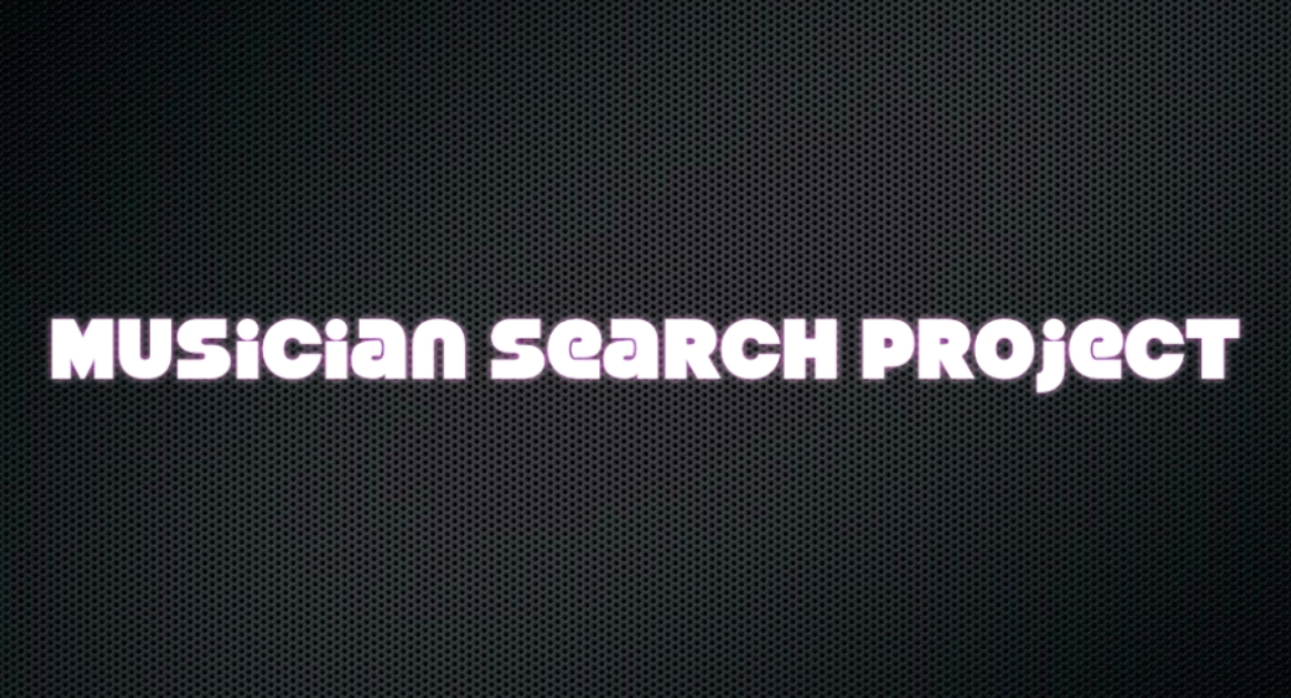 VIDEO BLOG: Project Musician Search